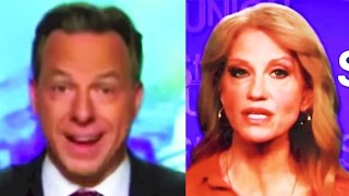 CNN: Jake Tapper Seems Like He's Had It With Kellyanne Conway & Trump Campaign Hypocrisy