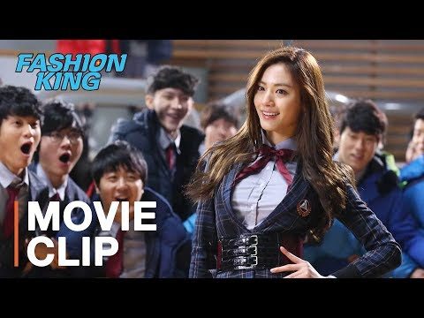 Crazy fashion battle at Korean high school! | Fashion King starring Joo Won, Ahn Jae-hyun, Nana