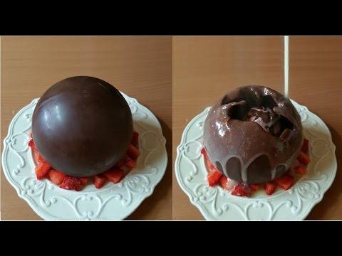 magica palla di cioccolato - la video ricetta