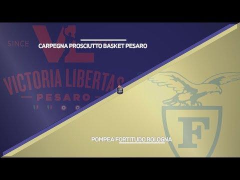 Fortitudo, gli highlights del match contro Pesaro