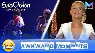 Video Eurovision Song Contest | The FUNNIEST & MOST AWKWARD moments 😂 MP3, 3GP, MP4, WEBM, AVI, FLV Maret 2019