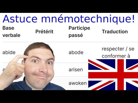 Astuces Mnemotechniques Pour Apprendre Les Verbes Irreguliers Anglais Retours D Experience