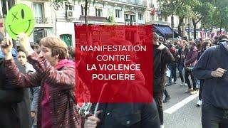 Reportage à la manifestation contre les violences policières
