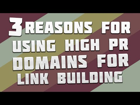 Why High PR Domains are Dominating SEO in 2015 and Beyond