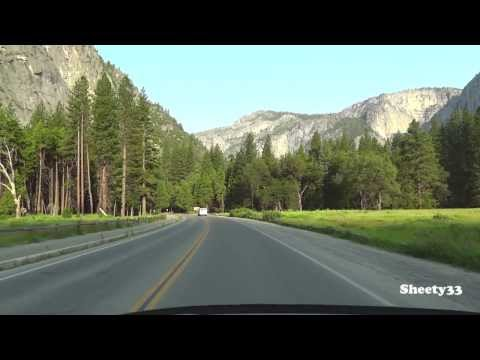 Sheety33 - Driving through beautiful Yosemite Valley, located in the heart of Yosemite National Park. Filmed just after sunup on a Summers day with a Sony HX9V digital ...