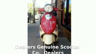 5. 2008 Genuine Scooter Co. Buddy International Pamplona 150 - Features, Review