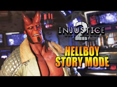HELLBOY - Story Mode: INJUSTICE 2 w/Maximilian (видео)