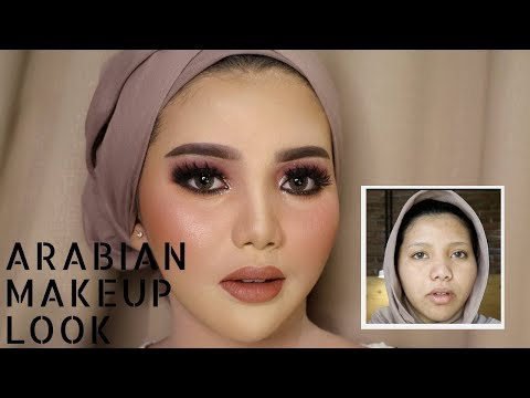 ARABIAN MAKEUP WEDDING LOOK | UCHYLESTARI | BAHASA