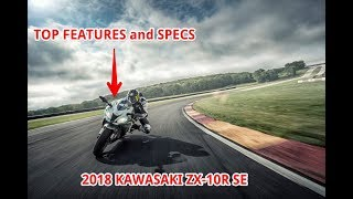 10. TOP FEATURES of 2018 Kawasaki Ninja ZX 10R SE, review by motorcycle garage