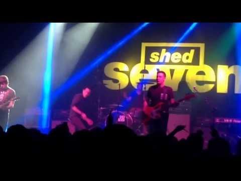 Shed Seven @ Wolves wulfren Hall, 11/12/13, She left me on Friday !!!!