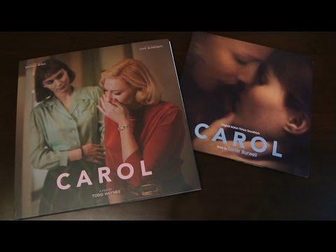 CAROL : Square Sleeve Edition 4 Disc Edition Blu-Ray DVD CD Cate Blanchett Rooney Mara Plain Archive