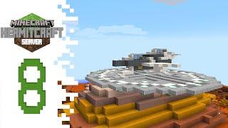 Hermitcraft (Minecraft) - EP08 - Spaceship Build!