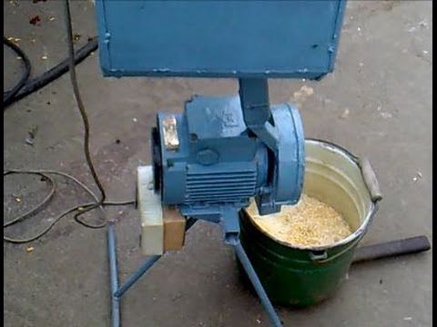 Мельница для зерна своими руками