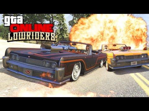GTA 5 Online (LowRiders) - Гонки на Выживание! #140