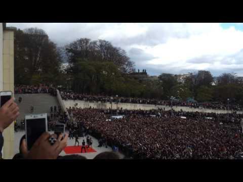 20 000 personnes au trocadero