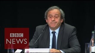 Fifa corruption: Platini tells Blatter to leave