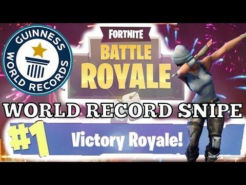 longest sniper kill in Fortnite battle royale