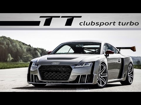 audi tt clubsport turbo - acceleration - exhaust sound