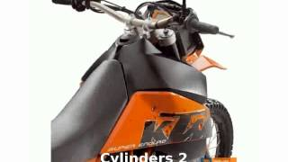 4. 2007 KTM 950 Super Enduro R Top Speed and motorbike