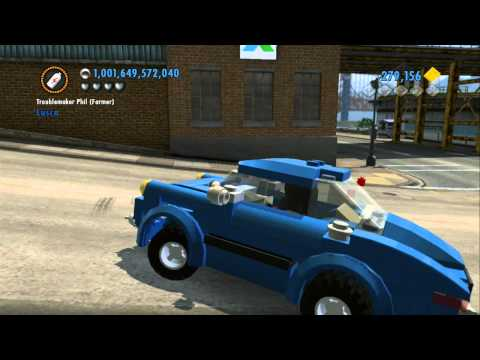 LEGO City Undercover Vehicle Guide - All Performance Vehicles in