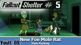 Vault 69 ~ Mole Rat Infestation ~ Fallout Shelter Android walk...