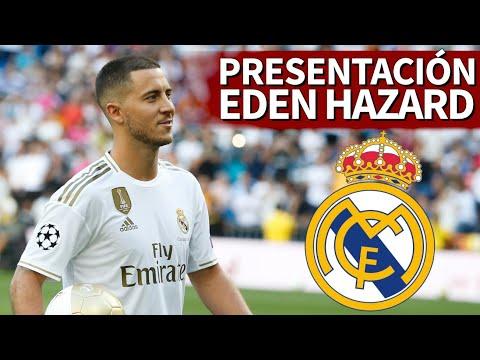 PRESENTACIÓN de HAZARD con el REAL MADRID en DIRECTO Diario AS