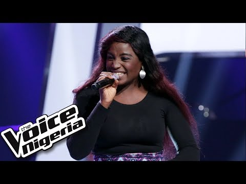 "Ogechi Ihenacho sings ""Serious Love"" / Blind Auditions / The Voice Nigeria Season 2"