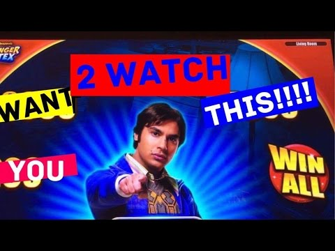 **BIG WIN BONUS!!!/ MAX BET!!!** Big Bang Theory Slot Machine