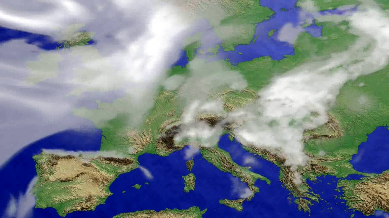 Cloud forecast Europe 2016-07-24