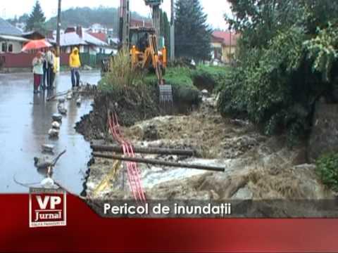 Pericol de inundaţii