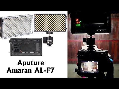 Prezentare lampa video LED Aputure Amaran AL-F7
