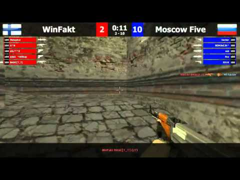 FCL Week 2: WinFakt vs Moscow Five