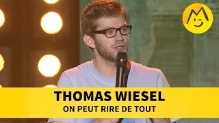 Thomas Wiesel - On peut rire de toutYoutube : https://www.youtube.com/user/FestivalDuRireTVFacebook : https://www.facebook.com/Montreux.Comedy.FestivalTwitter : https://twitter.com/MontreuxComedyVine : https://vine.co/MontreuxComedyInstagram : https://instagram.com/montreuxcomedy/