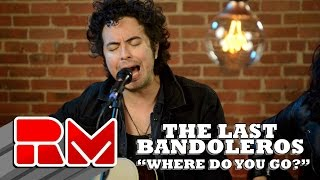 """See more of The Last Bandoleros at: http://www.realmagictv.com/music/666/The-Last-BandolerosThe Last Bandoleros """"Where Do You Go?"""" - Live Acoustic Performance in on Real Magic TV. The band stopped by our Northeast studio while on tour. They played 4 songs in this exclusive session. The Last Bandoleros are:Jerry Fuentes - Vocals & Guitar Derek James - Vocals & GuitarDiego Navaira- Vocals & BassEmilio Navaira - Vocals & PercussionThe Last Bandoleros are on a roll. The group has sold-out New York City's Rockwood Music Hall as headliner and opened for Canadian chanteuse Feist at Webster Hall (NYC). They've performed live with Sting and also feature as backing vocalists on his new single """"I Can't Stop Thinking About You"""" currently climbing the AAA radio and iTunes rock charts. At the time of the video publishing the band was on tour with Sting. Members of the group perform with Sting nightly and have appeared on Sting's latest release """"57th and 9th""""."""