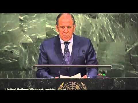 Выступления С В Лаврова на 70 сесии ООН 27 09 2015г (видео)