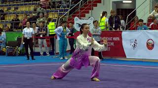 Video 14th WWC - Women's Taijiquan - Lindswell LINDSWELL (INA) MP3, 3GP, MP4, WEBM, AVI, FLV Mei 2019