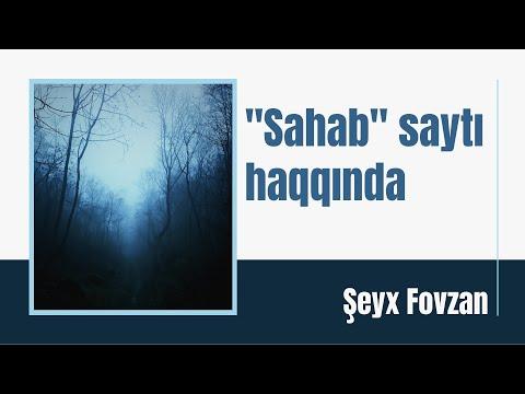 Şeyx Saleh əl-Fovzan - Sahab saytı haqda