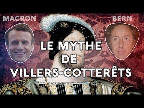MACRON & BERN : Le mythe de VILLERS-COTTERÊTS