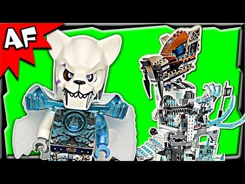 Vidéo LEGO Chima 70147 : La Forteresse de Glace de Sir Fangar