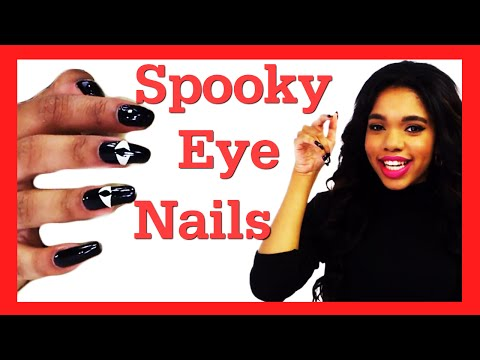 Nail - Get Teala's spooky nail art for Halloween! Pair this easy nail tutorial with any Halloween costume to be extra spooky! #17daily Click to watch more #17Daily episodes! https://bit.ly/SeventeenDaily...