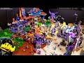Updated LEGO NEXO Knights year 2 battlefield display!