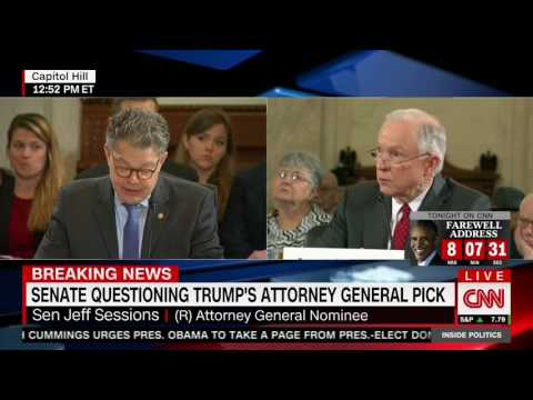 Download Al Franken calls Jeff Sessions a liar HD Mp4 3GP Video and MP3