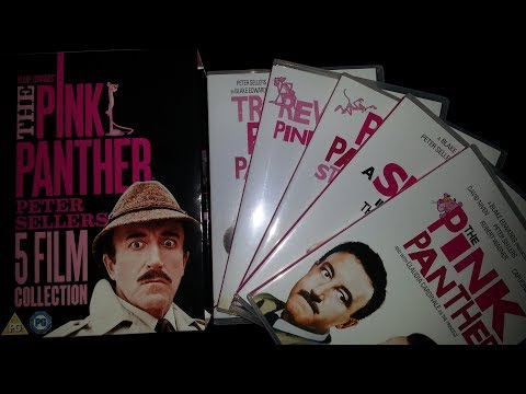 The Pink Panther Peter Sellers 5 Film Collection DVD Box Set Product Review