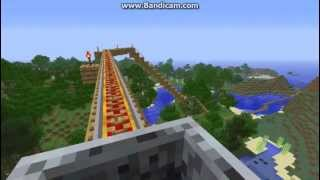 Рекорд на гинес най-якото и най-дългото ВЛАКЧЕ НА УЖАСИТЕ в историята на Minecraft
