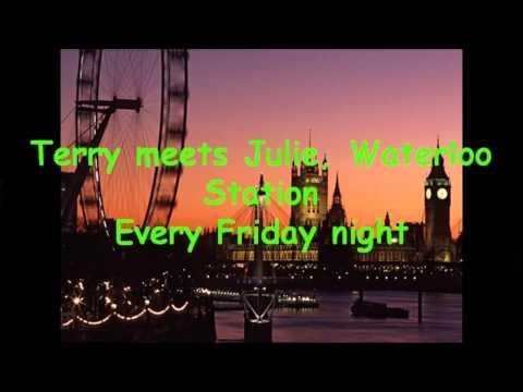 Waterloo Sunset / The Kinks - Lyric Video - HD 1080p