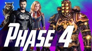Video How Thor & Captain Marvel Set Up MCU Phase 4 & The Villain of Guardians of the Galaxy 3 MP3, 3GP, MP4, WEBM, AVI, FLV Oktober 2018