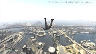 Amazing Superman Cheat Code - Grand Theft Auto 5 (GTA 5 Glitches&Cheats)