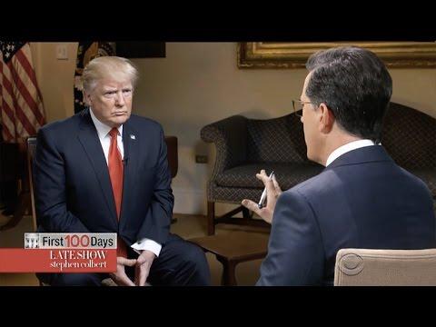 Stephen Colbert Goes OneOnOne With Donald Trump