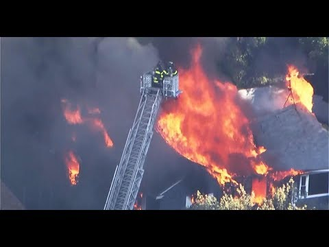 Live: Gas explosions and fires in homes in Lawrence, North Andover and Andover