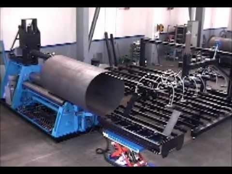 Plate Rolling | Hydraulic Machine | MCB | 4 Roll